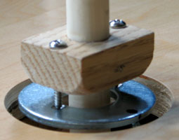 gimbal for rotary pendulum
