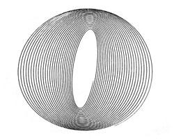 example 2-pendulum harmonograph drawing