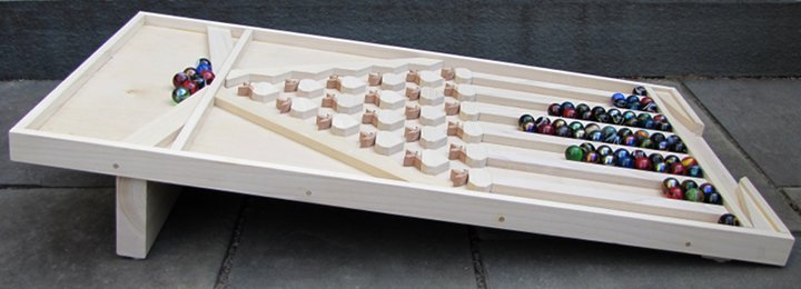 Pascals Marble Run